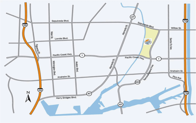 Map of SCIG
