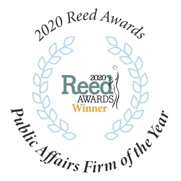 2020 Reed Awards Public Affairs Firm of the Year